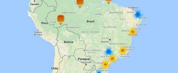 mapa onde existem cps home