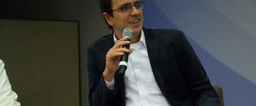 Daniel Neves Forte, durante a palestraHSL