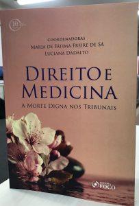 LIVRO DIREITO E MEDICINA, cuidados paliativos, saúde, direito