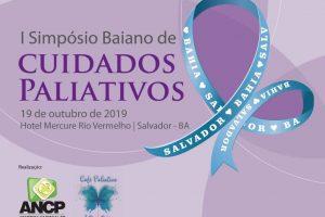 I Simpósio Baiano de Cuidados Paliativos está com inscrições abertas!