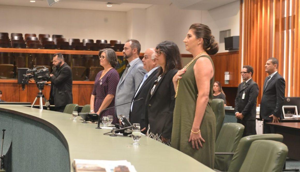 Assembléia Legislativa do Estado de Goiás realiza sessão especial em homenagem a profissionais que trabalham em Cuidados Paliativos