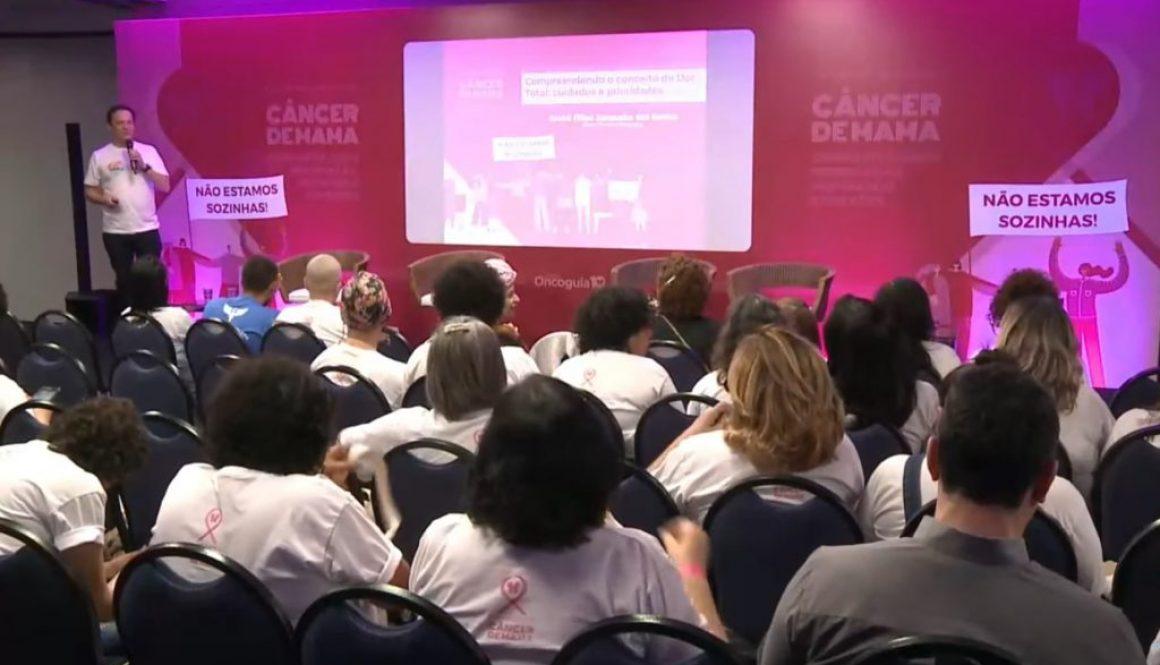 ANCP esteve presente no Encontro Oncoguia para pacientes com câncer de mama: inicial e metastático
