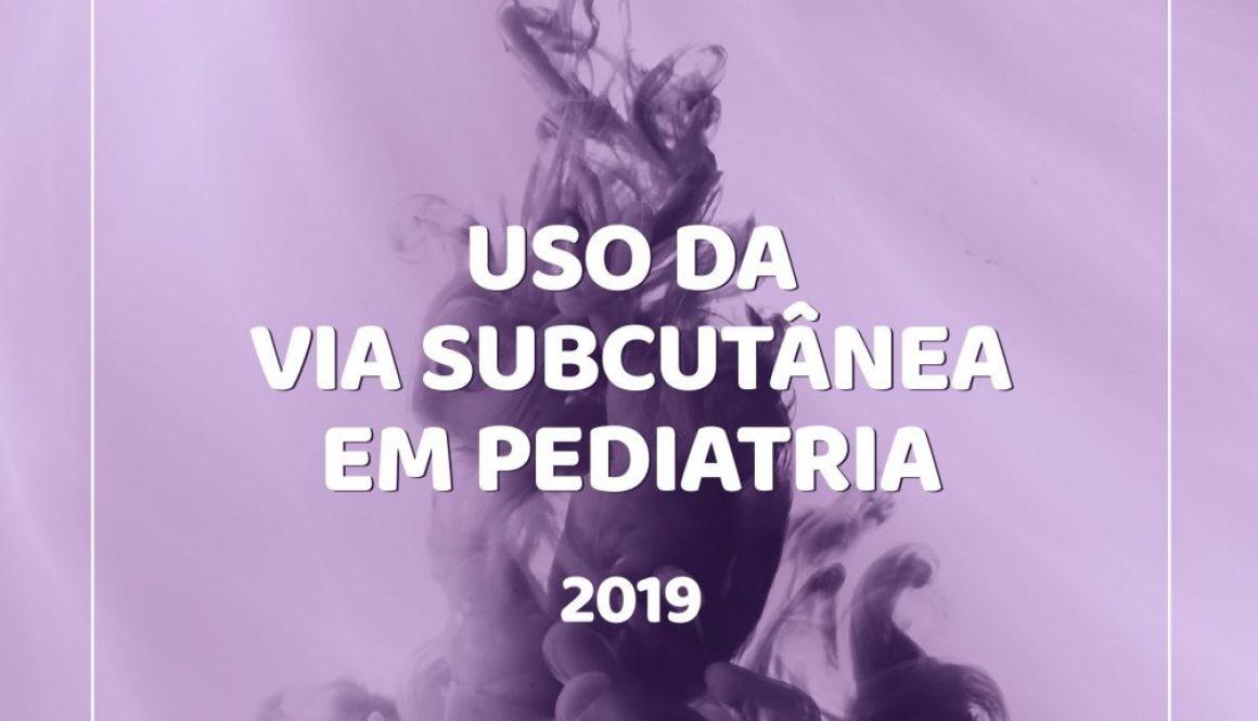 """ANCP lança manual """"Uso da via subcutânea em pediatria"""""""