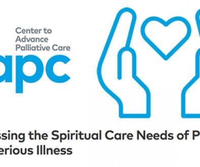 """CAPC lança """"Atendendo às necessidades de cuidado espiritual de pacientes com doenças graves"""""""
