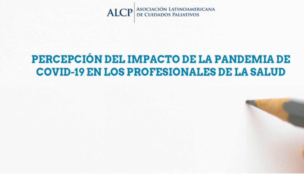 """ALCP realiza pesquisa """"Percepção do impacto da pandemia de COVID-19 nos profissionais de saúde na América Latina"""""""