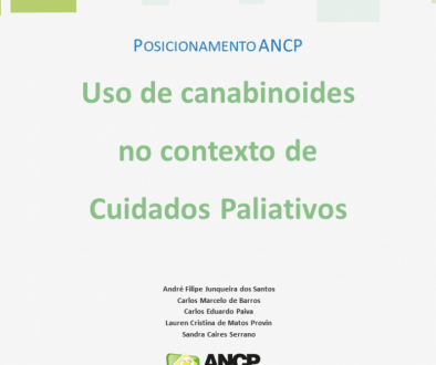 POSICIONAMENTO ANCP Uso de canabinoides no contexto de Cuidados Paliativos